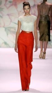 Blouse and trousers