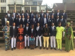 School Prefects' Leadership Training, Kings' College Lagos, September 2018