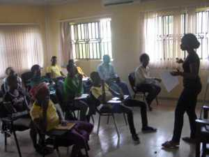 Etiquette Classes for rural dwellers in Igbodu,Epe, 2012